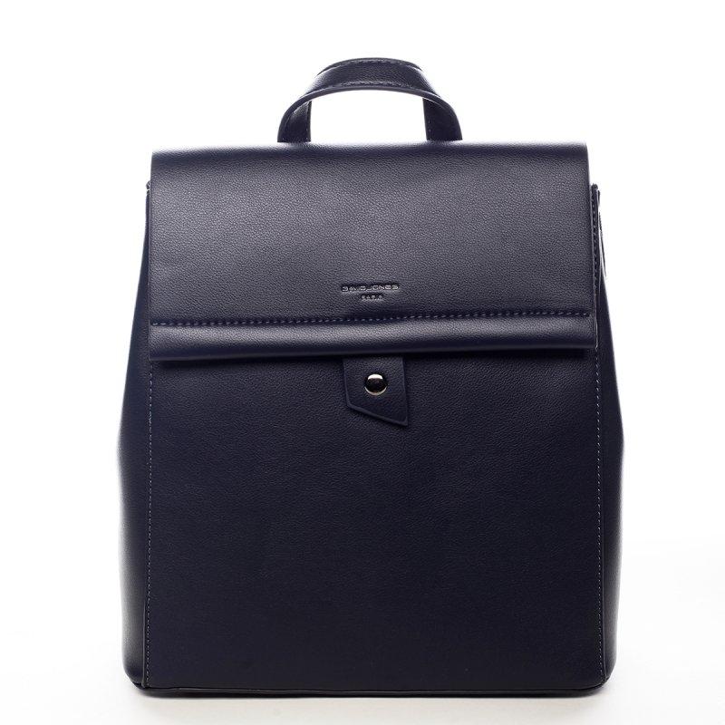 Elegantní pevný dámský batoh Amelia modrá