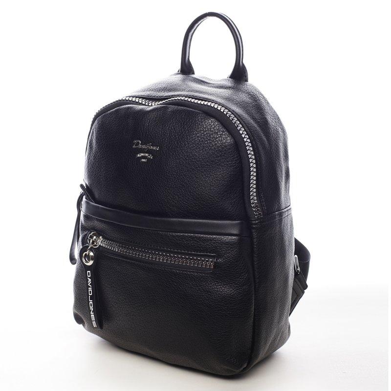 Stylová dámský koženkový batůžek Junella černá