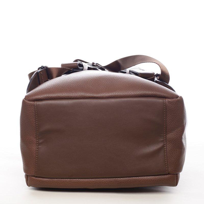 Praktický větší dámský batoh Marilee hnědá