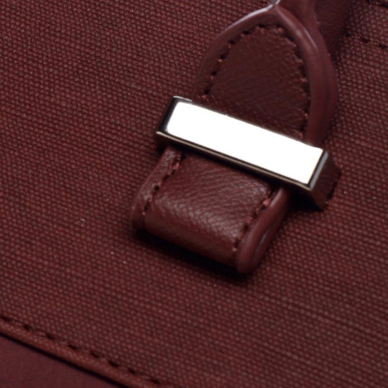 Hravá dámská koženková kabelka Marylin červená