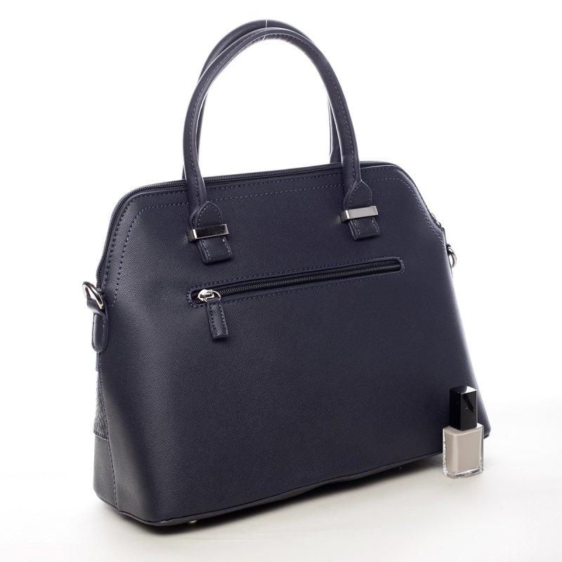 Hravá dámská koženková kabelka Marylin modrá