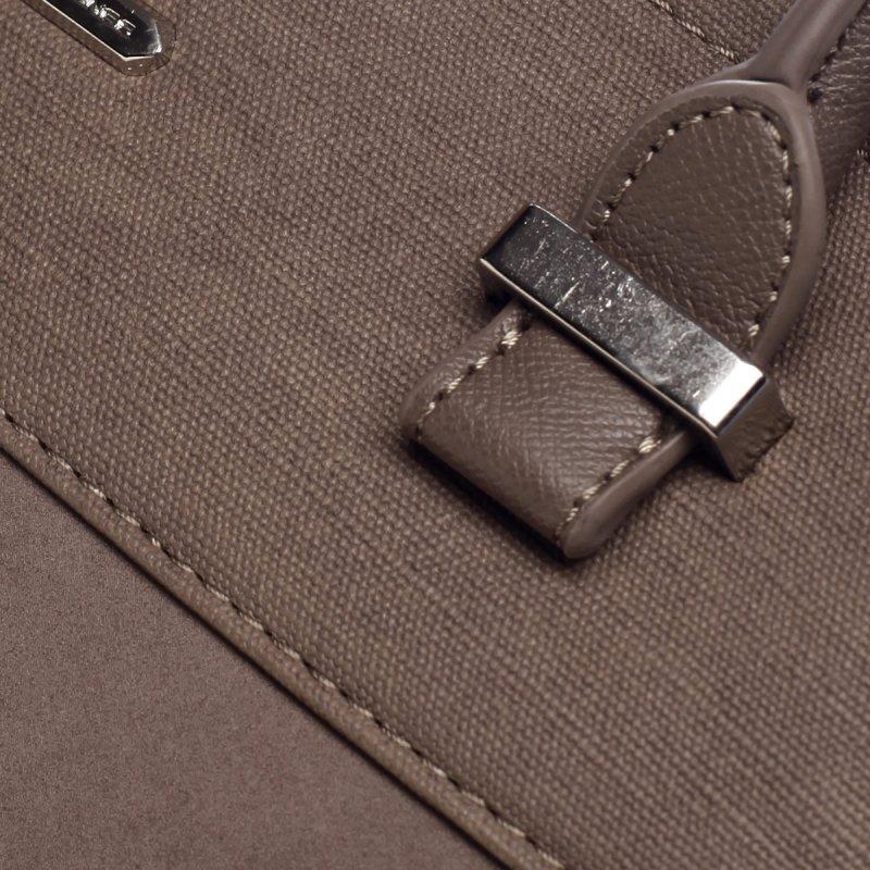 Hravá dámská koženková kabelka Marylin zemitá