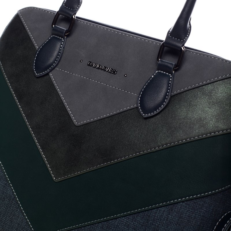Nepřehlédnutelná dámská kabelka Elma zelená