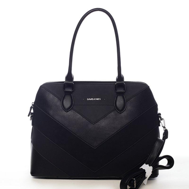 Nepřehlédnutelná dámská kabelka Elma černá