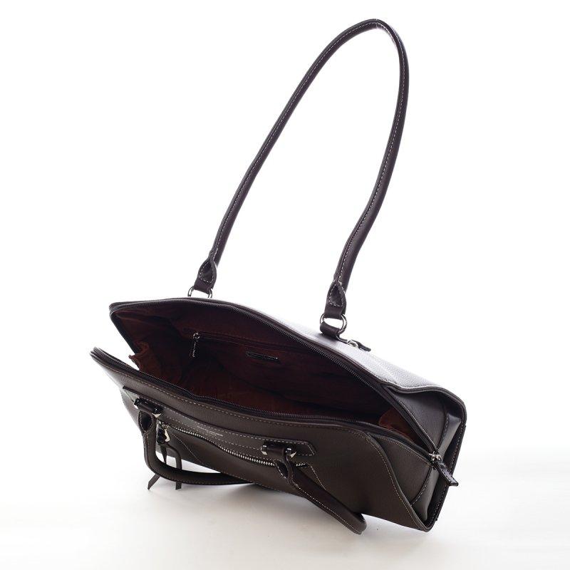 Praktická dámská kabelka Cari hnědá