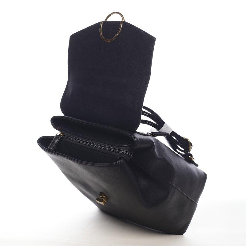 Nepřehlédnutelný dámský městský batůžek Dante černá