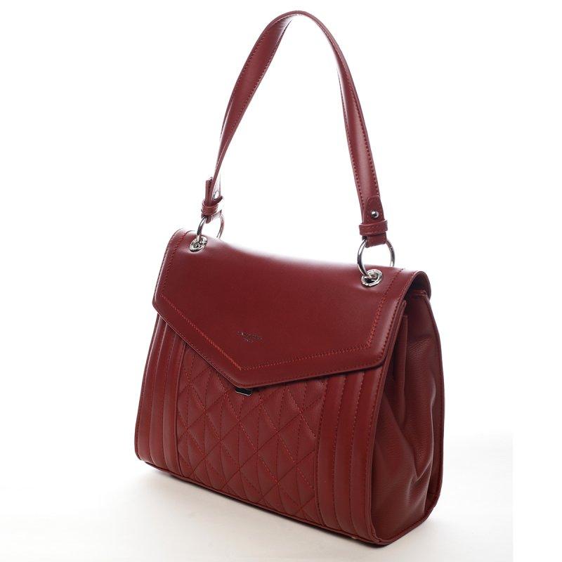 Originální dámská kabelka Melody červená