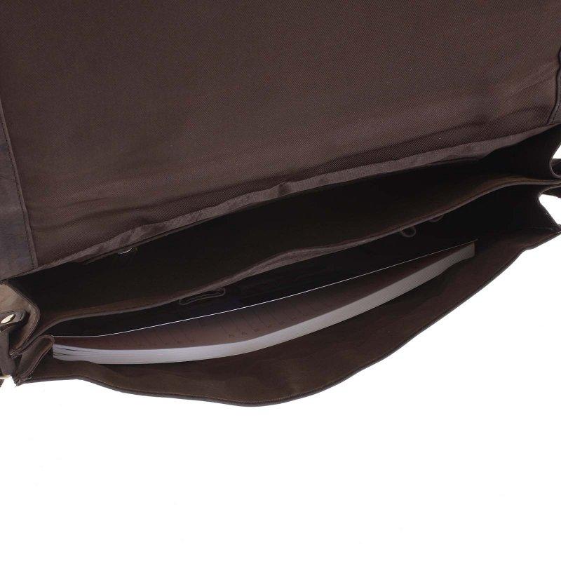 Pánská kožená taška Jack hnědá