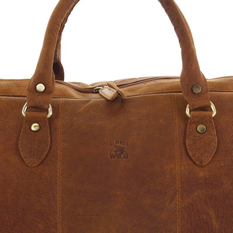 Velká cestovní taška Connor koňaková