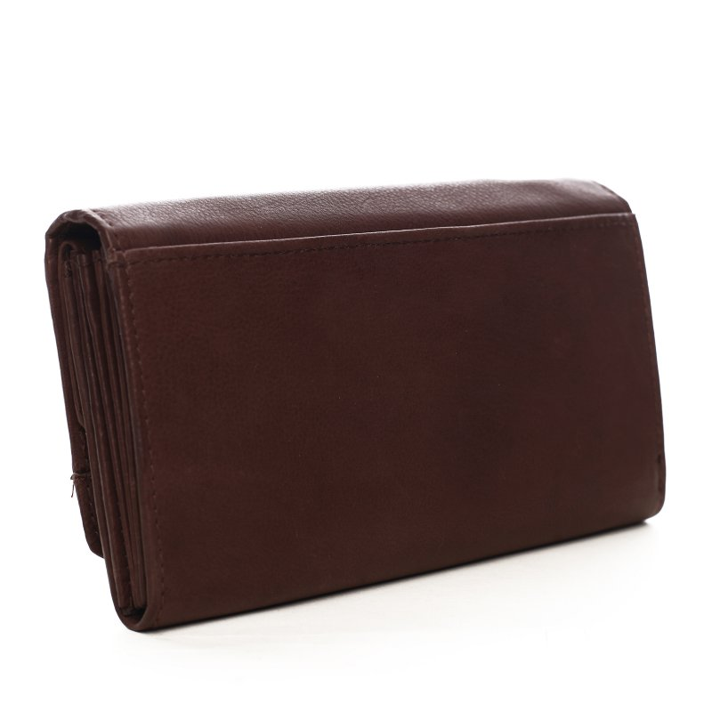 Dámská kožená peněženka Barbora hnědá