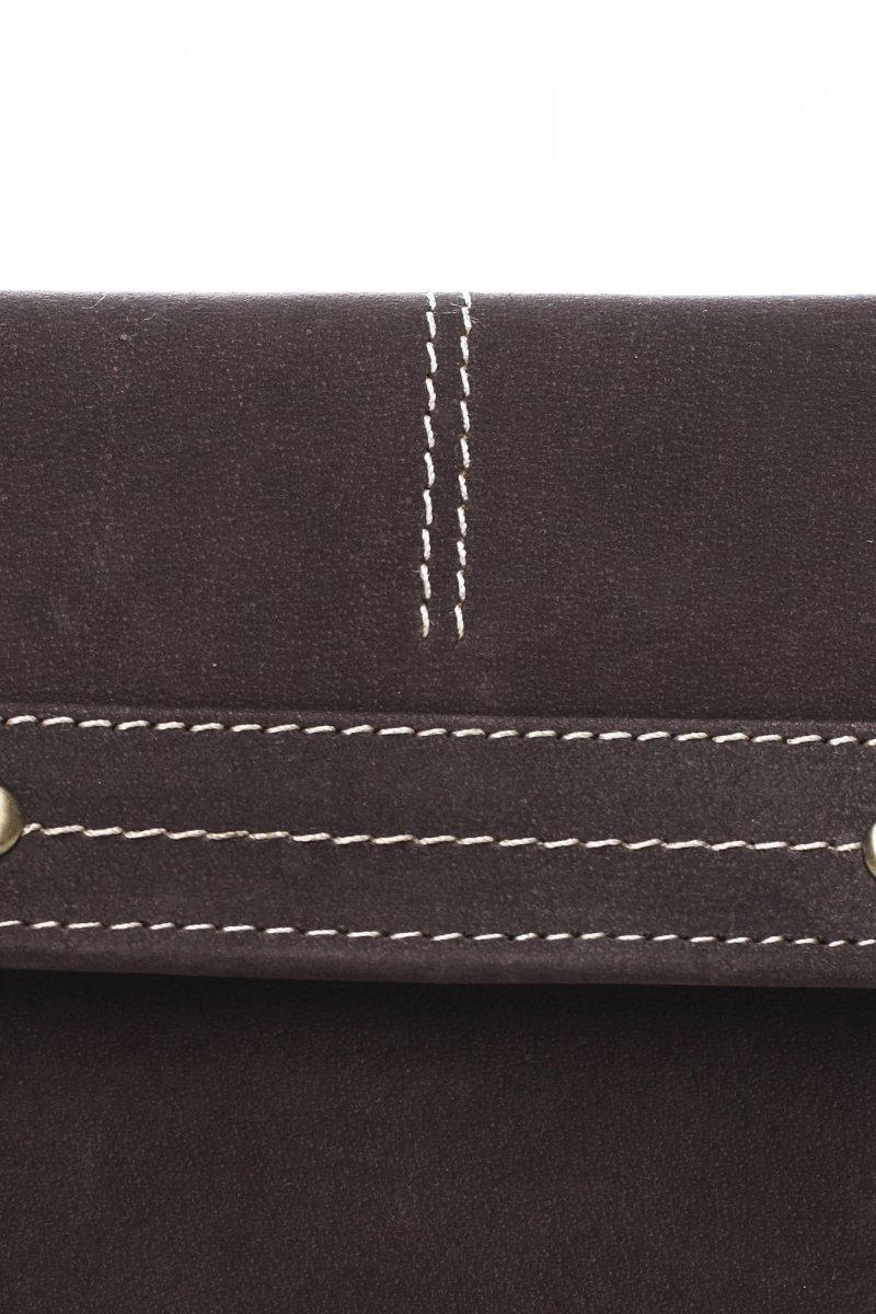 Praktická dámská kožená peněženka Lilia, hnědá