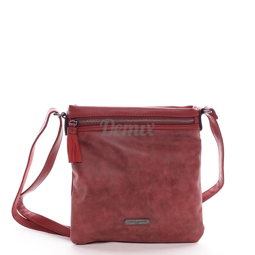 Crossbody kabelka Leona M červená