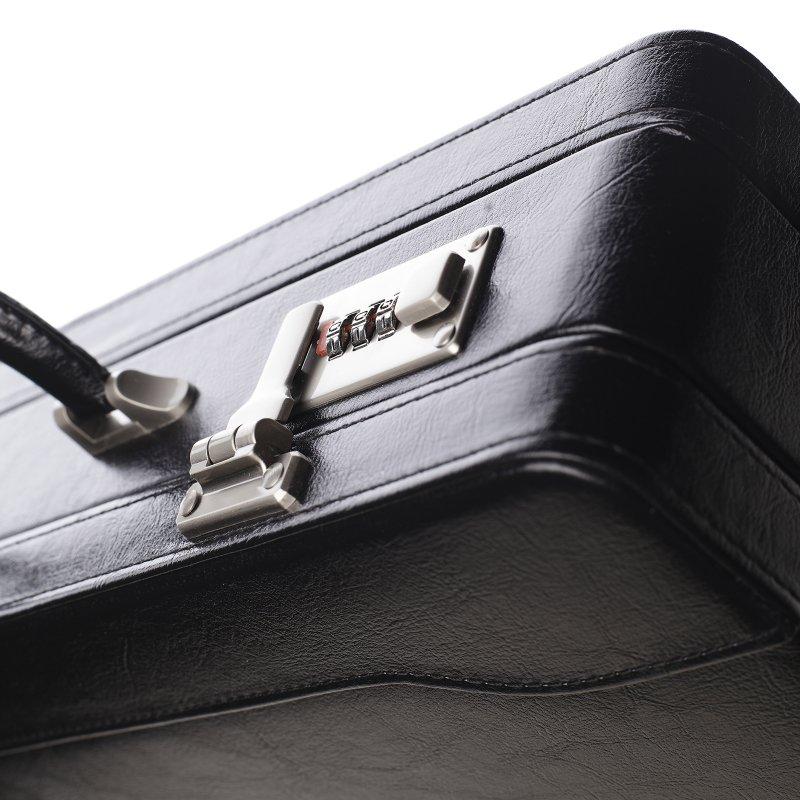 Diplomatický kufřík attache Timothy větší černý