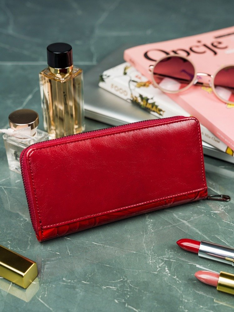 Exkluzivní dámská peněženka Mel, červená
