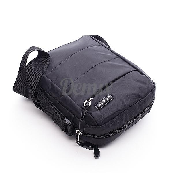 Pánská černá taška přes rameno Diviley Nick
