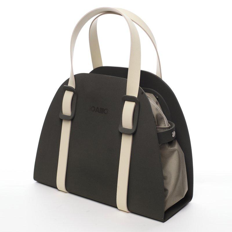 Trendová dámská italská kabelka Vanda IOAMO