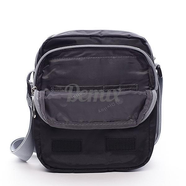 Černá pánská taška přes rameno Diviley Garry