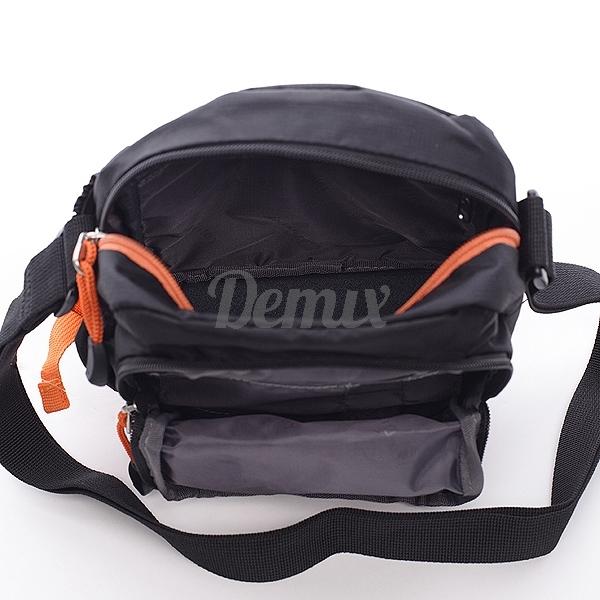 Pánská černá taška přes rameno Diviley Hank