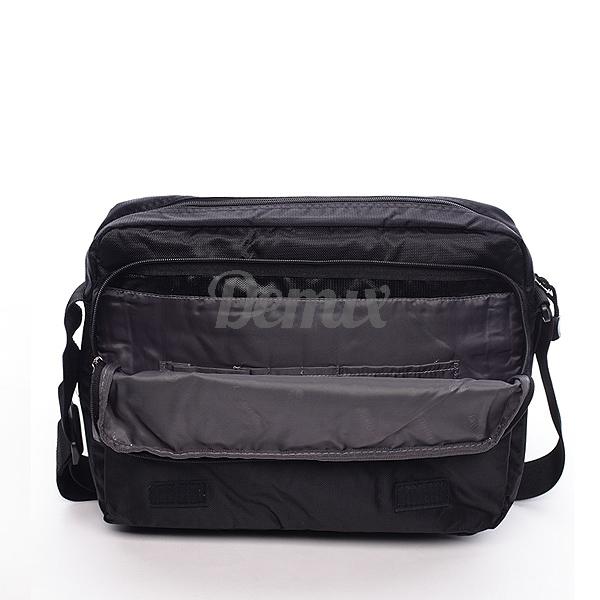Pánská černá taška přes rameno Diviley Eddie