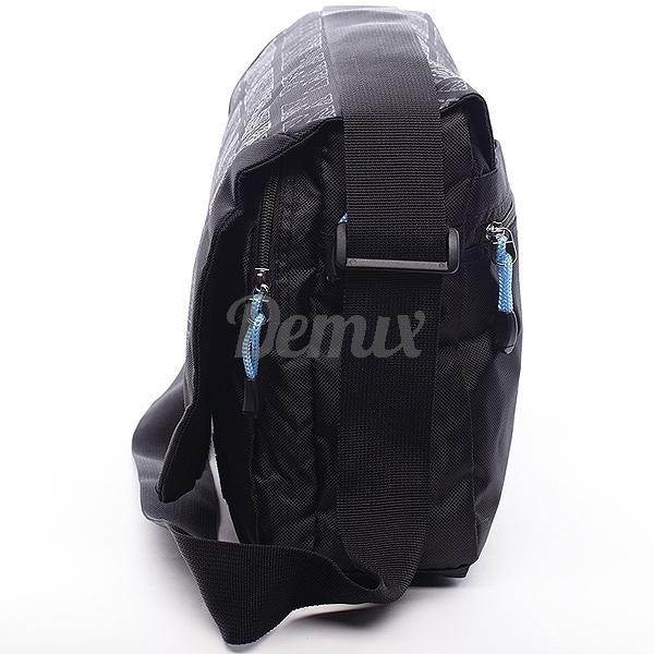 Černá pánská taška přes rameno Diviley Chuck