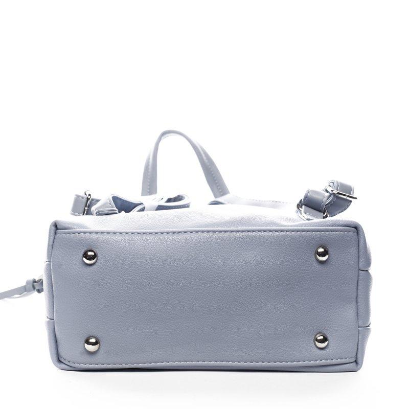 Stylový městský koženkový batůžek Oscar modrá