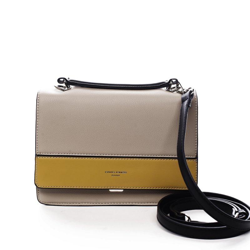 Menší dámská koženková kabelka do ruky Blaise béžová