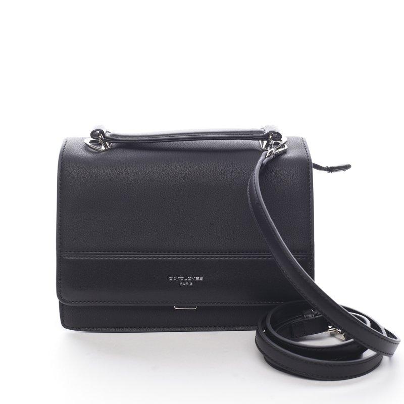 Menší dámská koženková kabelka do ruky Blaise černá