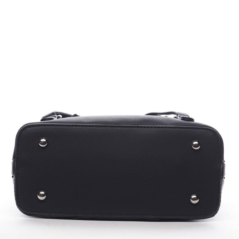 Módní dámský koženkový batoh Félix černá