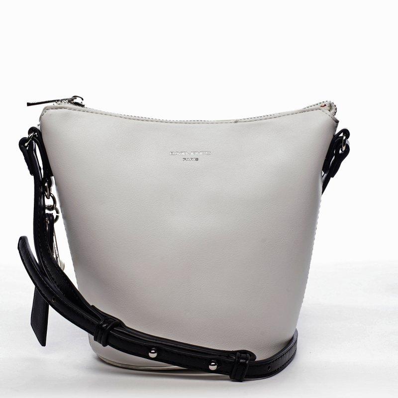 Luxusní crossbody kabelka Graciana, bílá