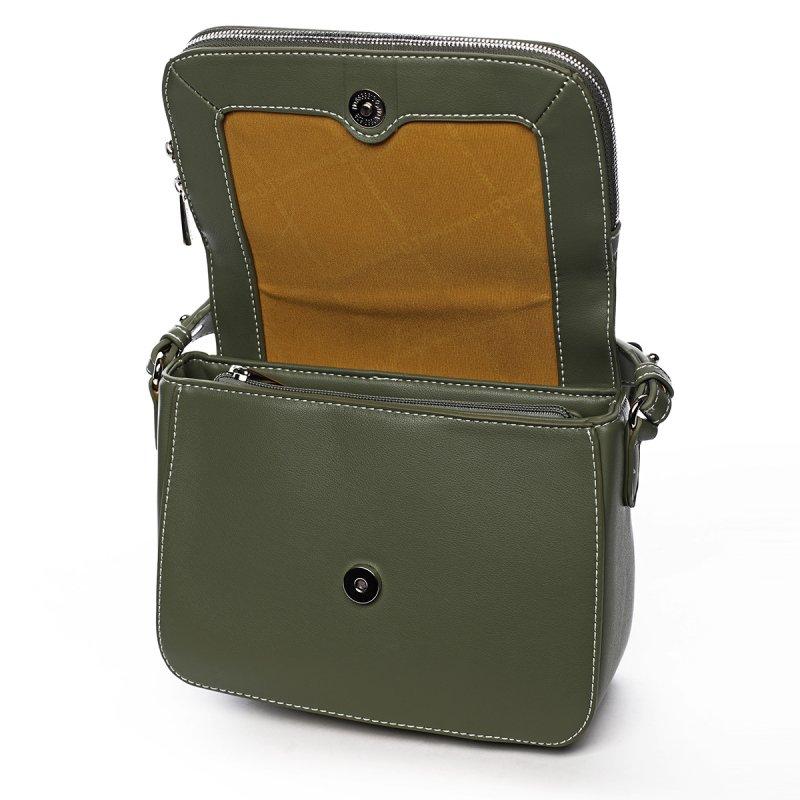 Stylová crossbody kabelka Jade, zelená
