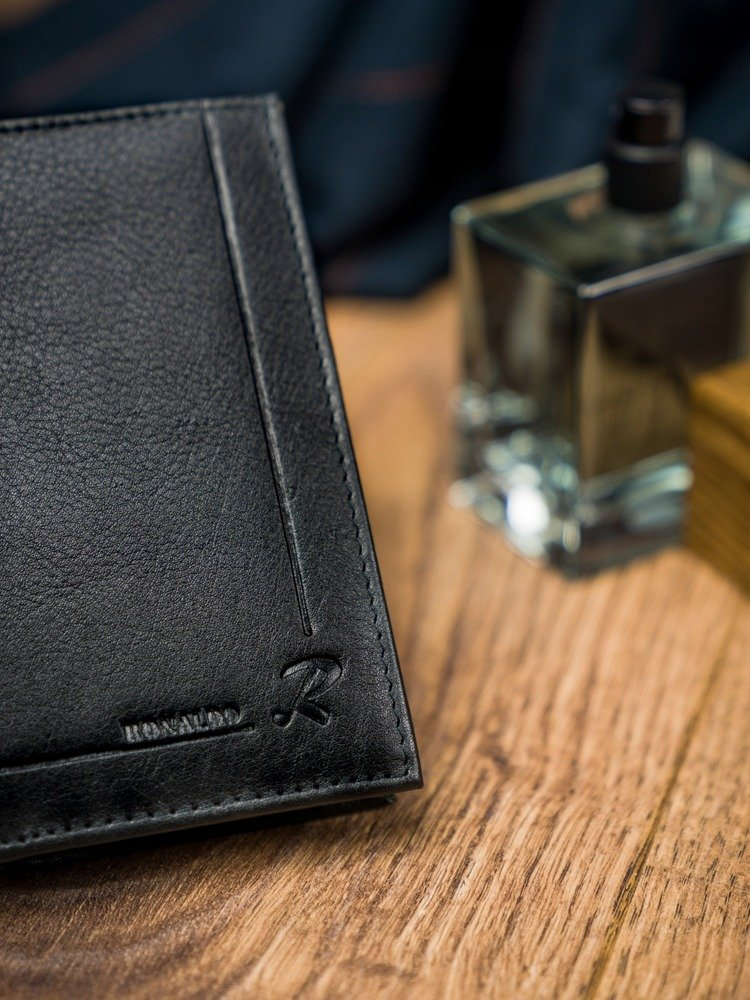 Pánská kožená peněženka Willam, černá