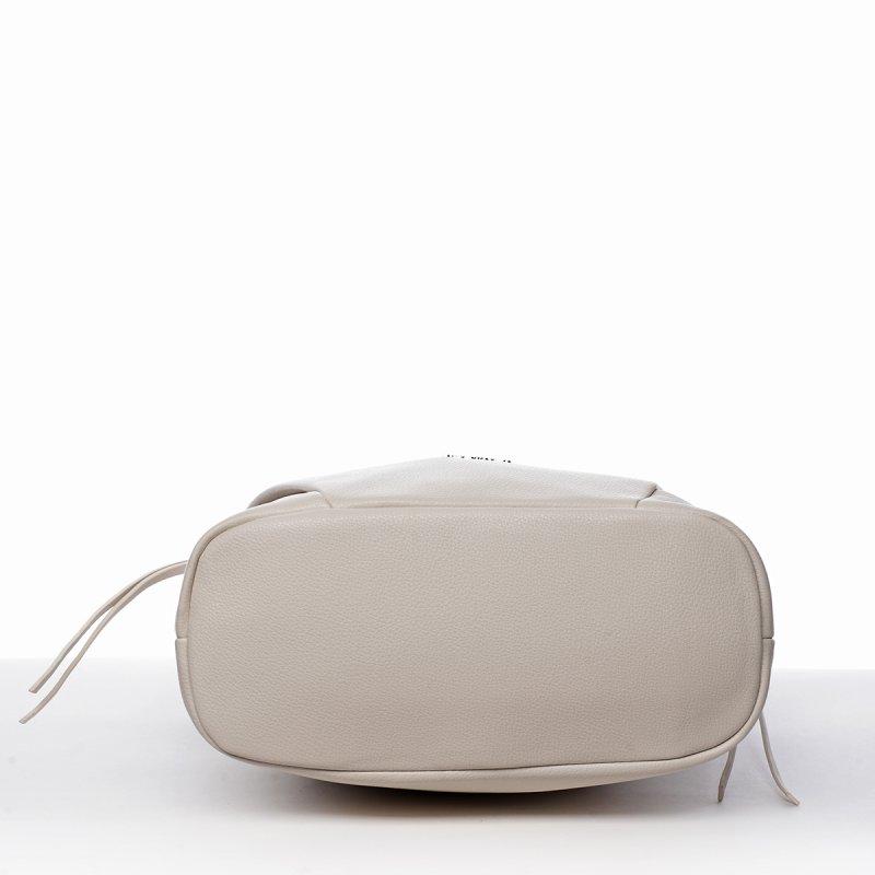 Trendová kabelka přes rameno Mercedes, bílá