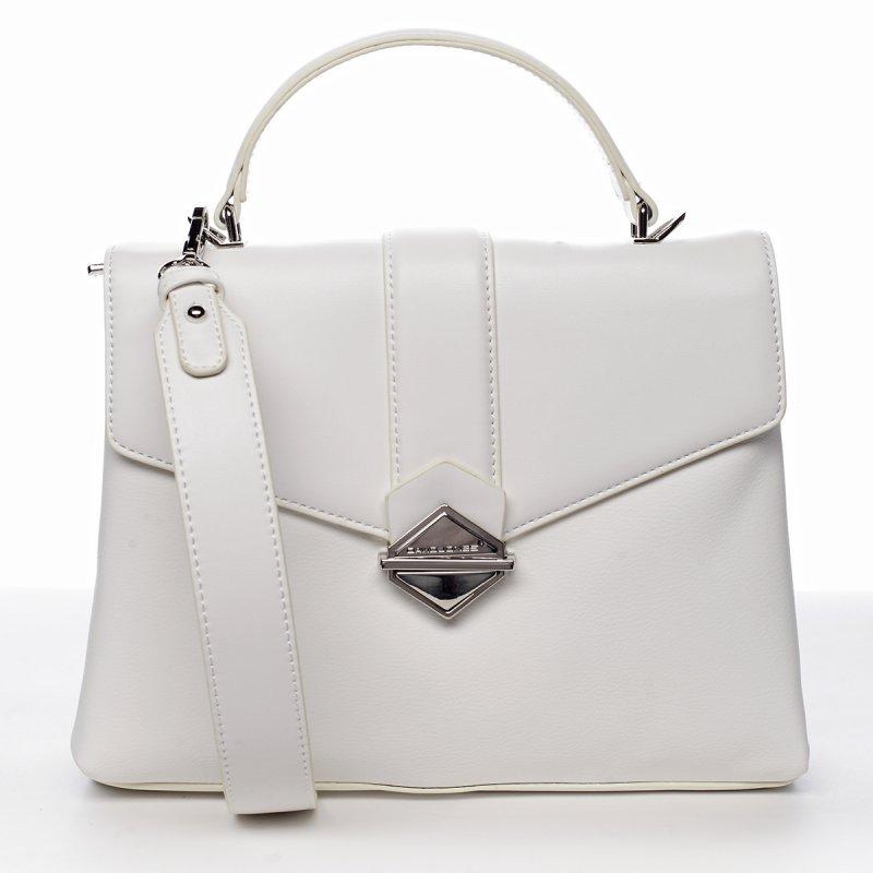Módní kabelka přes rameno Marina, bílá