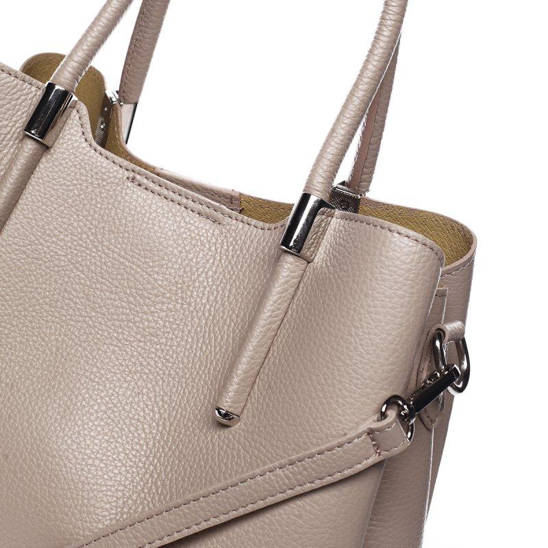 Business kožená kabelka  Encarnición, růžová