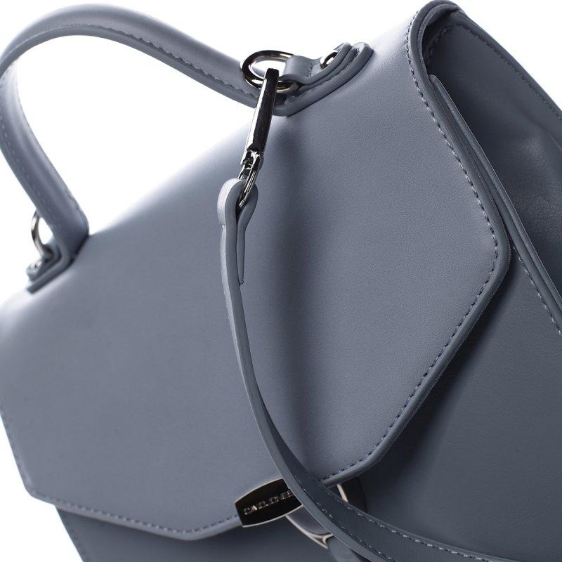 Dámská koženková kabelka do ruky Louise modrá