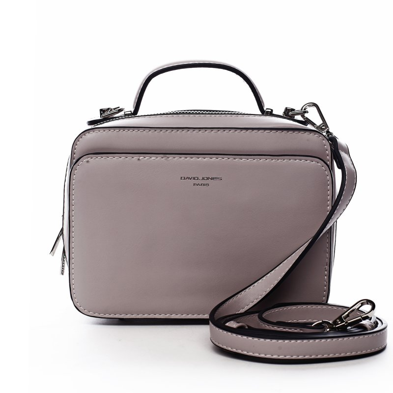 Dámská menší kufříková kabelka do ruky Mathilde světle fialová