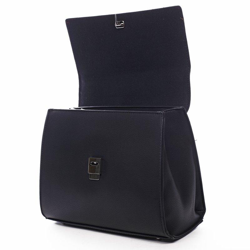 Dámská kufříková kabelka do ruky Clémence černá