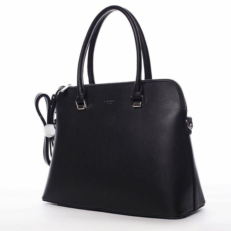 Elegantní pevná dámská kabelka Maria, černá
