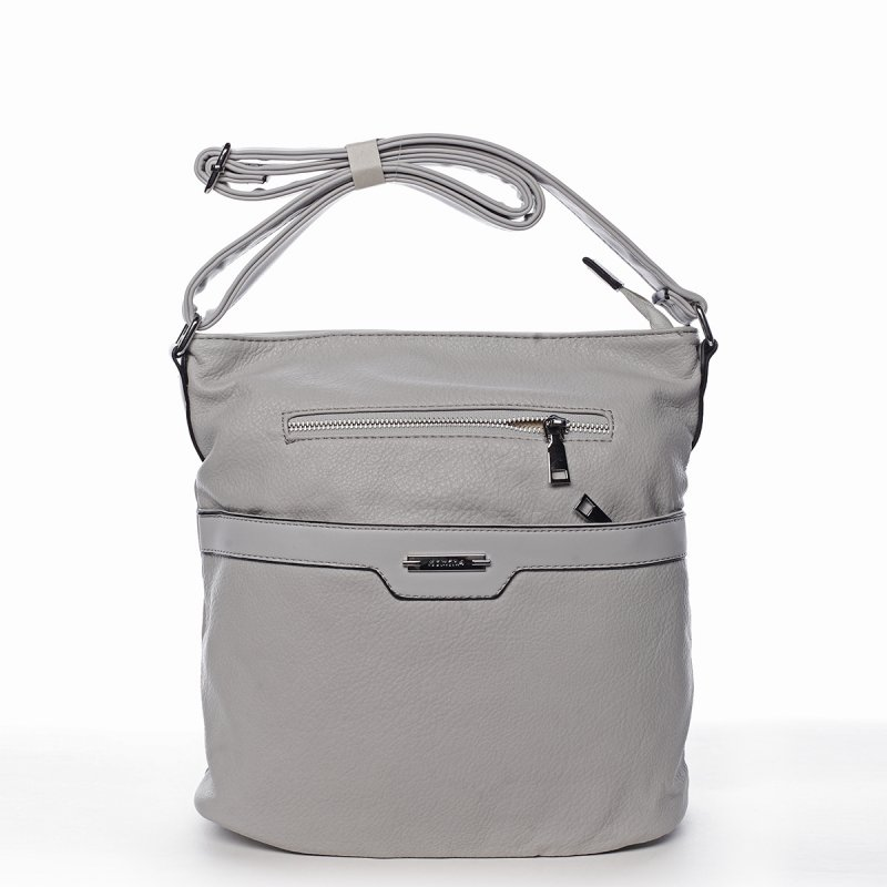 Menší dámská crossbody kabelka Serena, šedá
