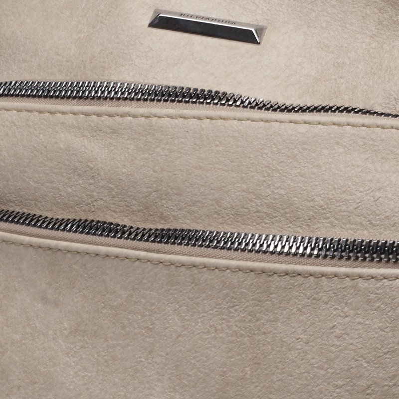 Praktická dámská koženková crossbody Ronan tmavě béžová