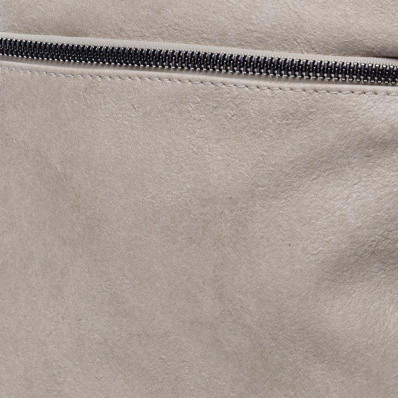 Praktická dámská koženková crossbody Ronan béžová