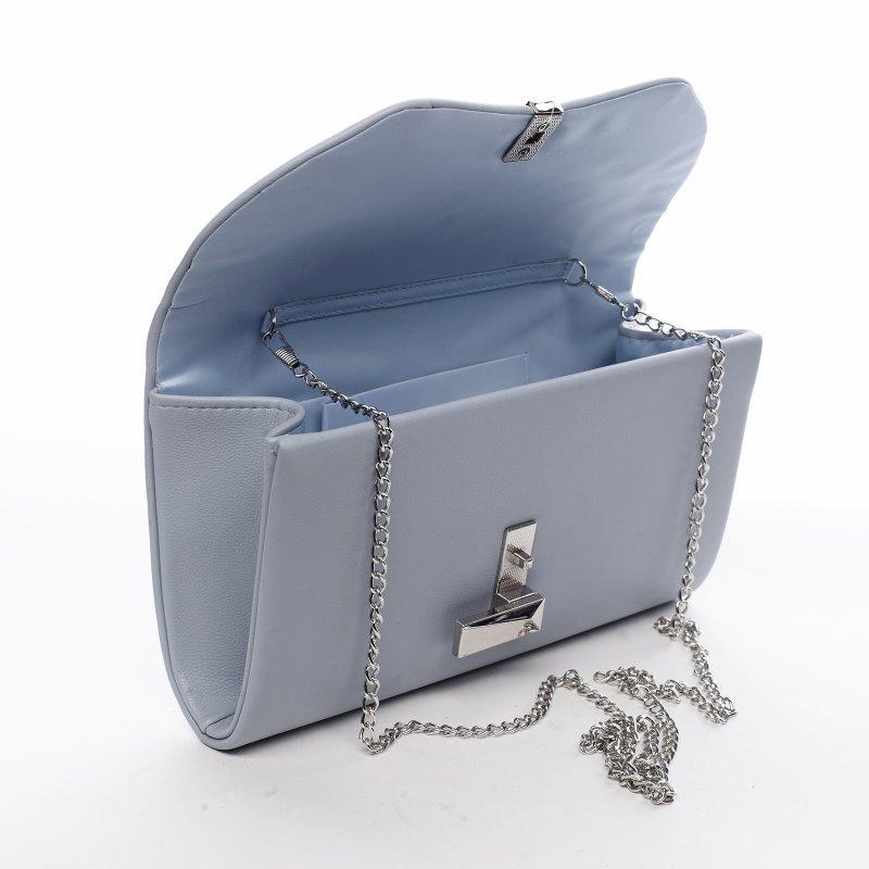 Desingové dámské koženkové psaníčko Germaine modrá