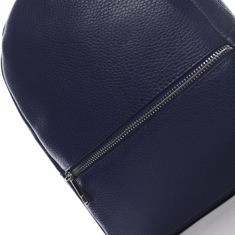 Batůžek z kůže pro dámy PAULETTE, modrý