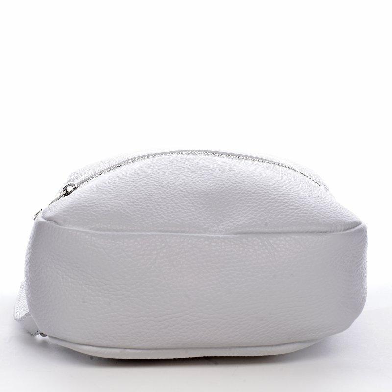 Batůžek z kůže pro dámy PAULETTE, bílý