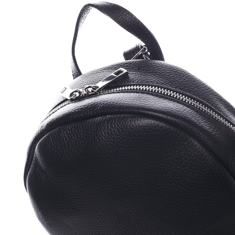 Batůžek z kůže pro dámy PAULETTE, černý