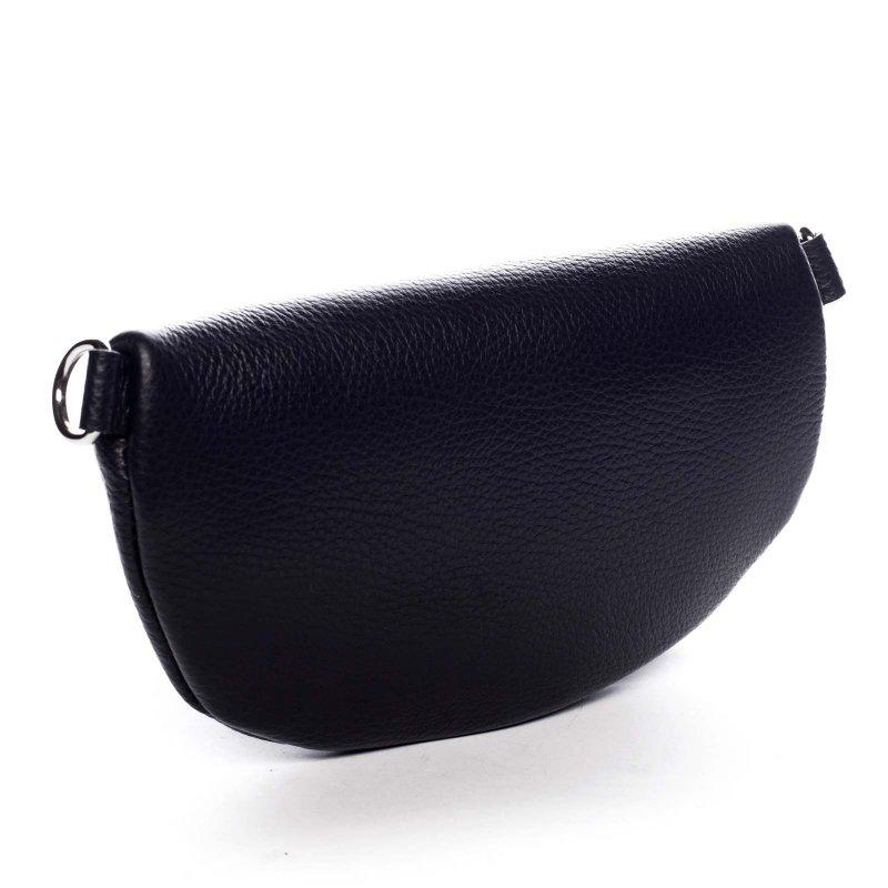 Stylová dámská kožená ledvinka Benoit černá
