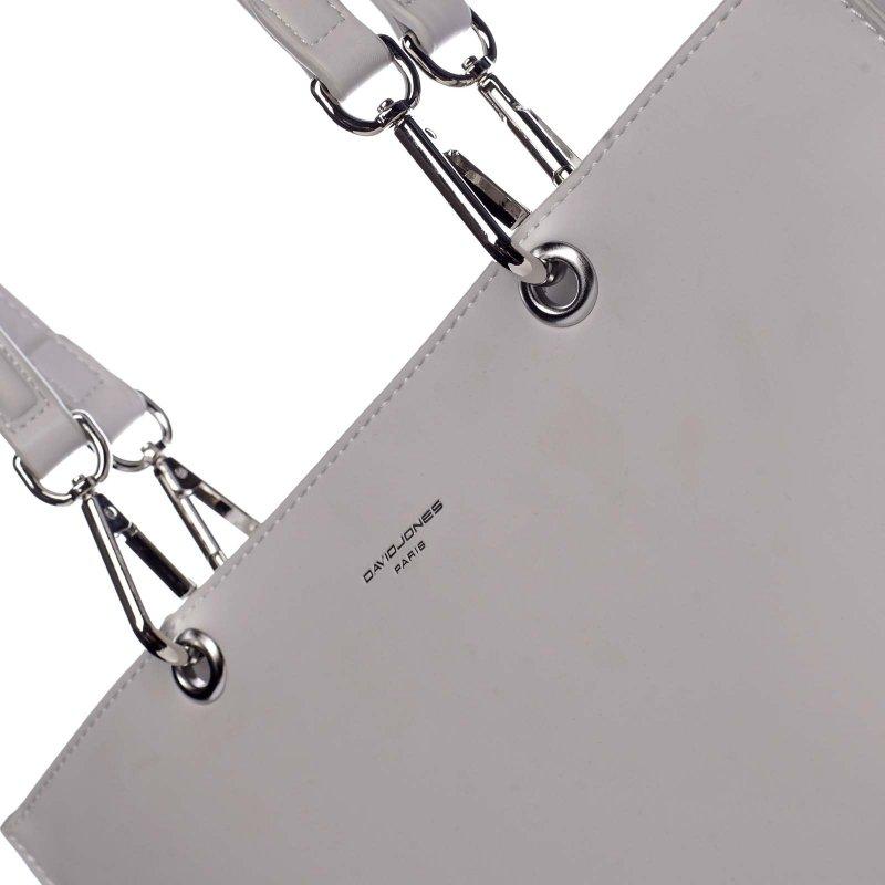 Velká praktická dámská koženková taška Arlette smetanová