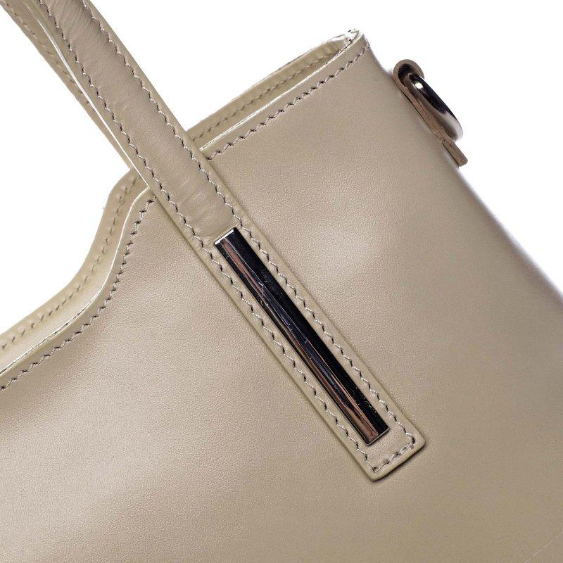 Dámská kožená kabelka Abi, béžová