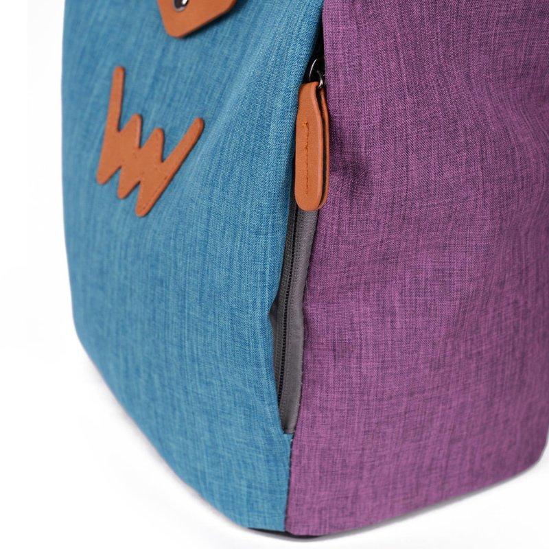 Trendový batoh Kyrie VUCH, modro/fialová