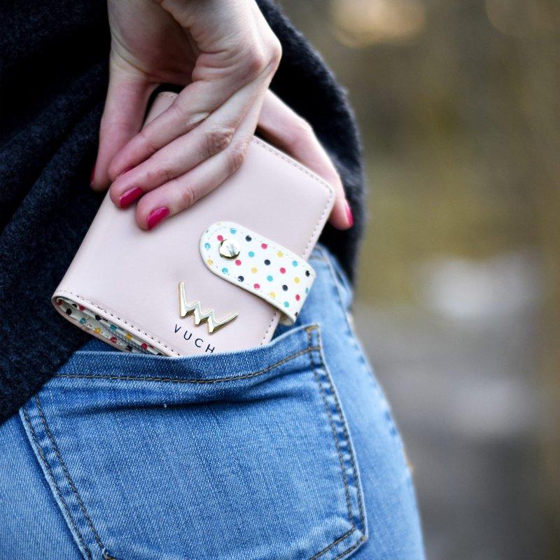 Trendová dámská peněženka Miss Clouds VUCH,růžová
